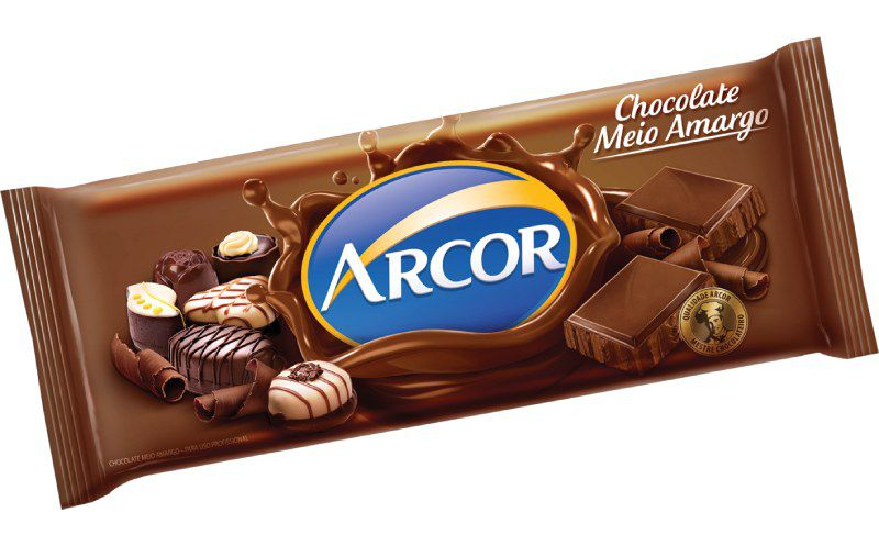 Chocolate Meio Amargo 1,05 kg Arcor