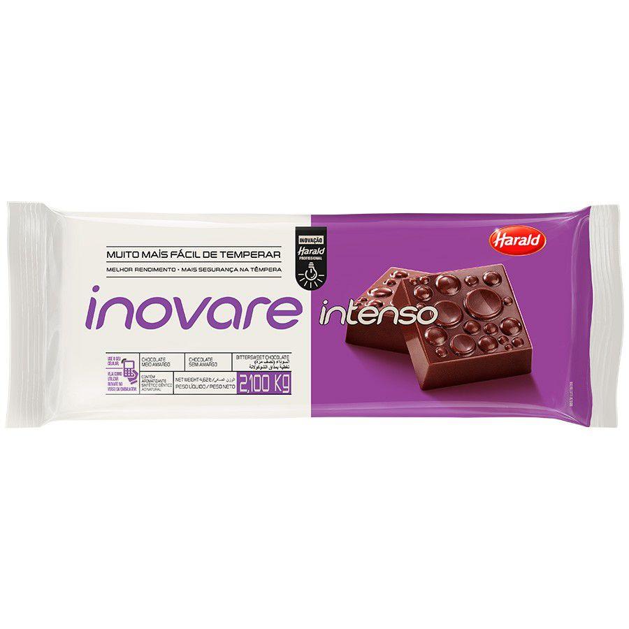 Chocolate Meio Amargo Intenso Inovare 2,1kg Harald