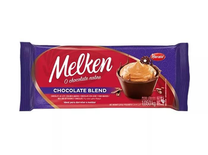 Chocolate nobre Blend 1,05kg Melken Harald