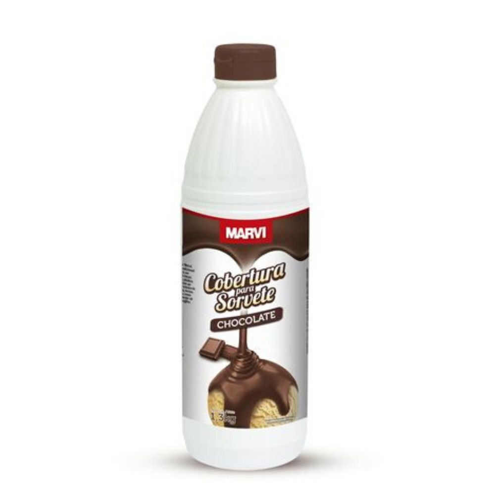 Cobertura para Sorvete de Chocolate 1,3kg Marvi