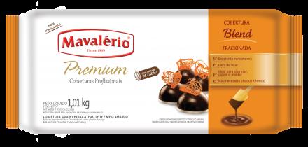 Cobertura Fracionada Blend sabor Chocolate 1,01kg Mavalério Premium