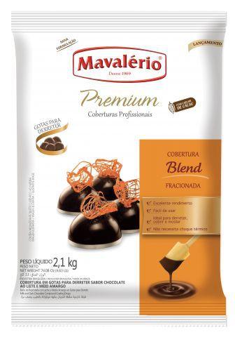 Cobertura Fracionada Blend sabor Chocolate Gotas 2,01kg Mavalério Premium