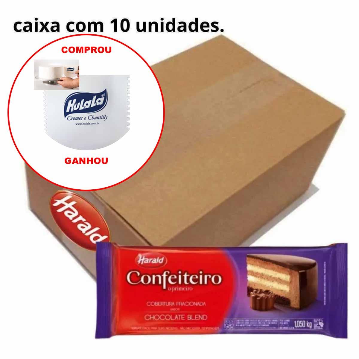 Cobertura Fracionada Harald Confeiteiro Blend 1kg C/10