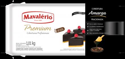 Cobertura Fracionada sabor Chocolate Amargo Mavalério 1,01kg