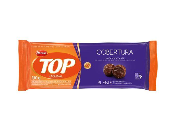 Cobertura Fracionada sabor Chocolate Blend 2,1kg Top Harald