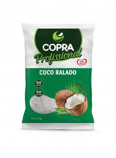 Coco Ralado Profissional Copra 5kg