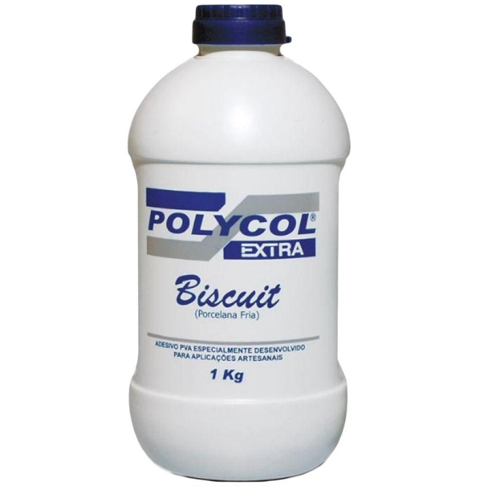 Cola Branca p/ Biscuit 1kg Polycol