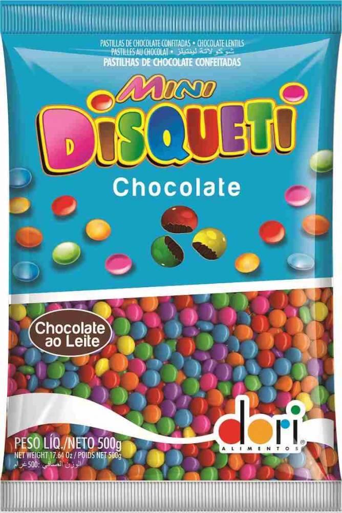 Confete Mini Disqueti 500g Dori