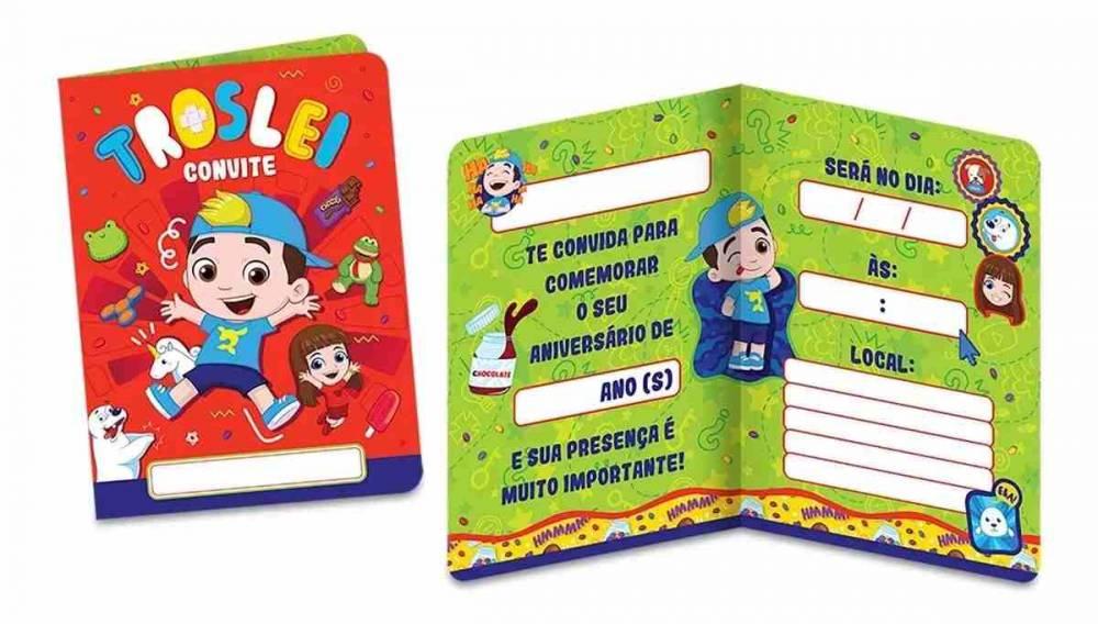 Convite Luccas Neto C/8 Unidades