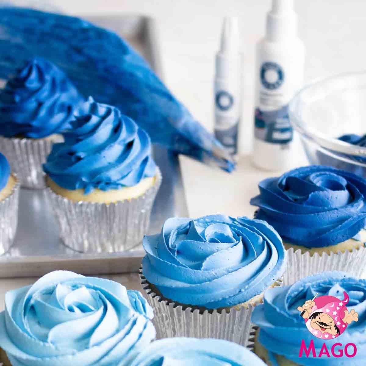 Corante Alimentício Soft Gel 60G Cor Azul Jeans MAGO