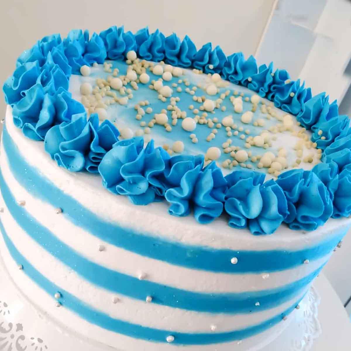 Corante alimentício Soft Gel Azul Bebê 25G Mix