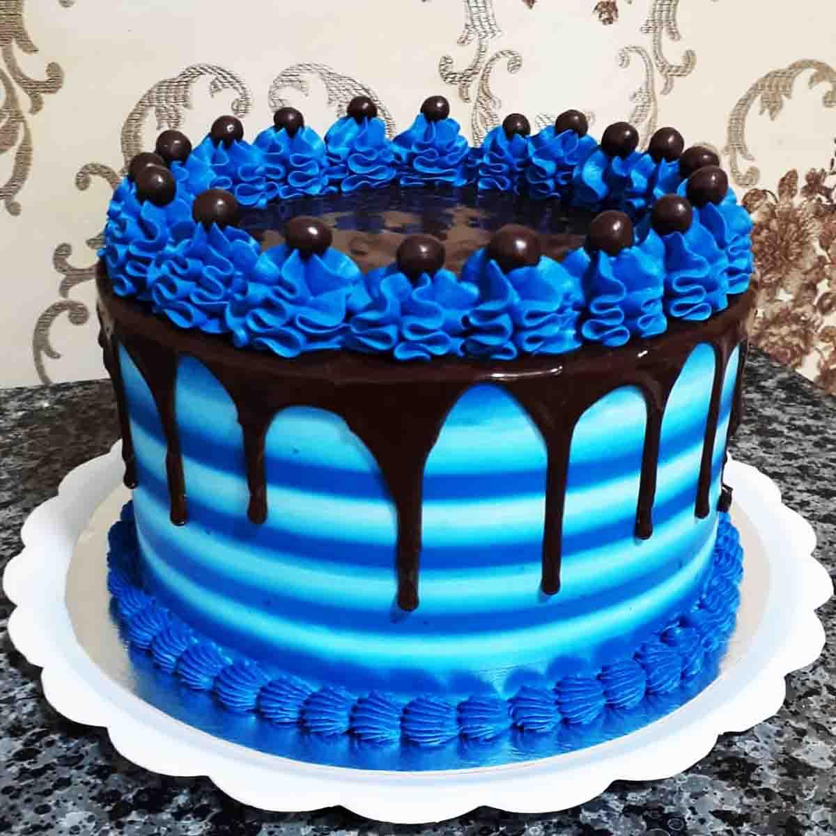 Corante alimentício soft gel Azul Marinho 25g  Mix