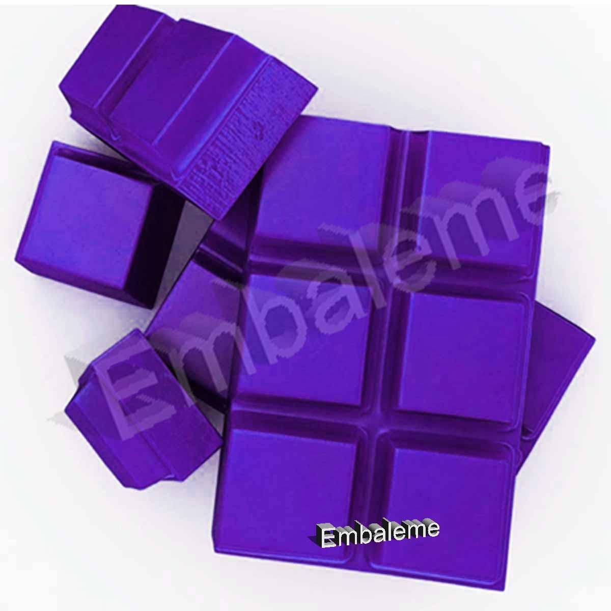 Corante para chocolate alimentício Violeta 50g -Selecta Namur