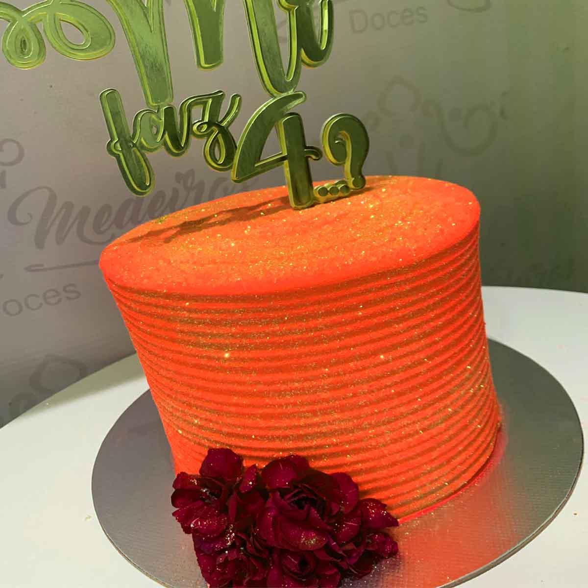Corante alimentício Soft gel Coral Neon 25G  Mix