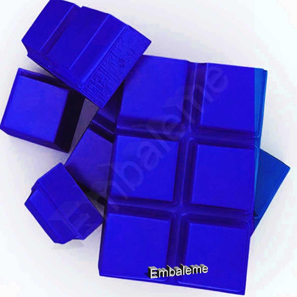 Corante alimentício em pó para chocolate Azul Lipossolúvel 5g MAGO