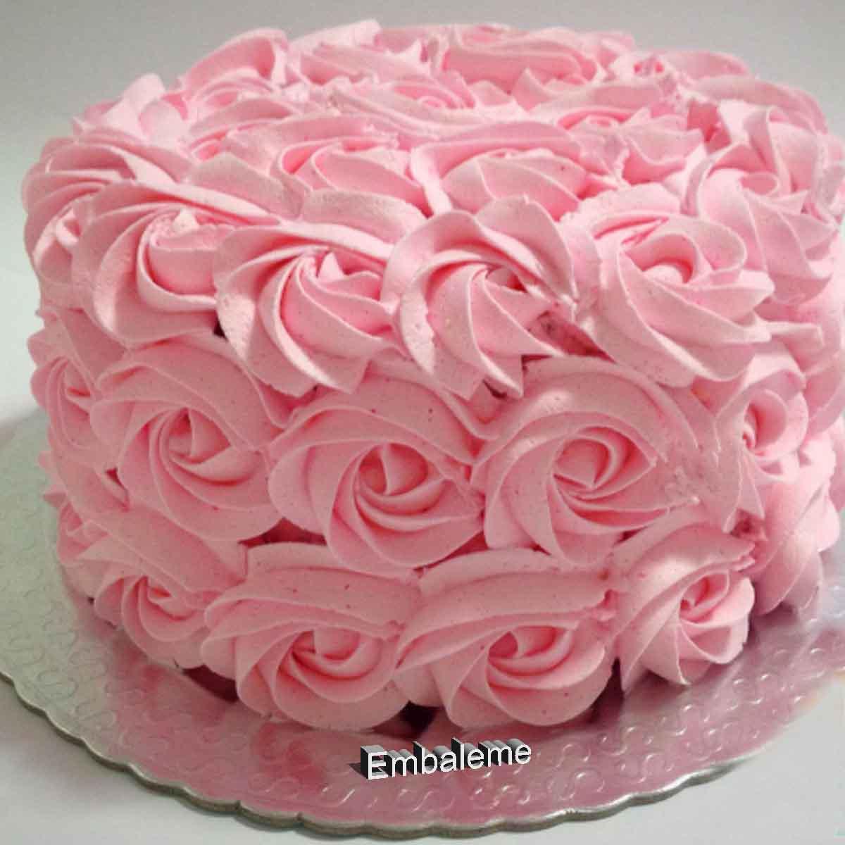 Corante alimentício Soft Gel Rosa Bebê 25G  Mix