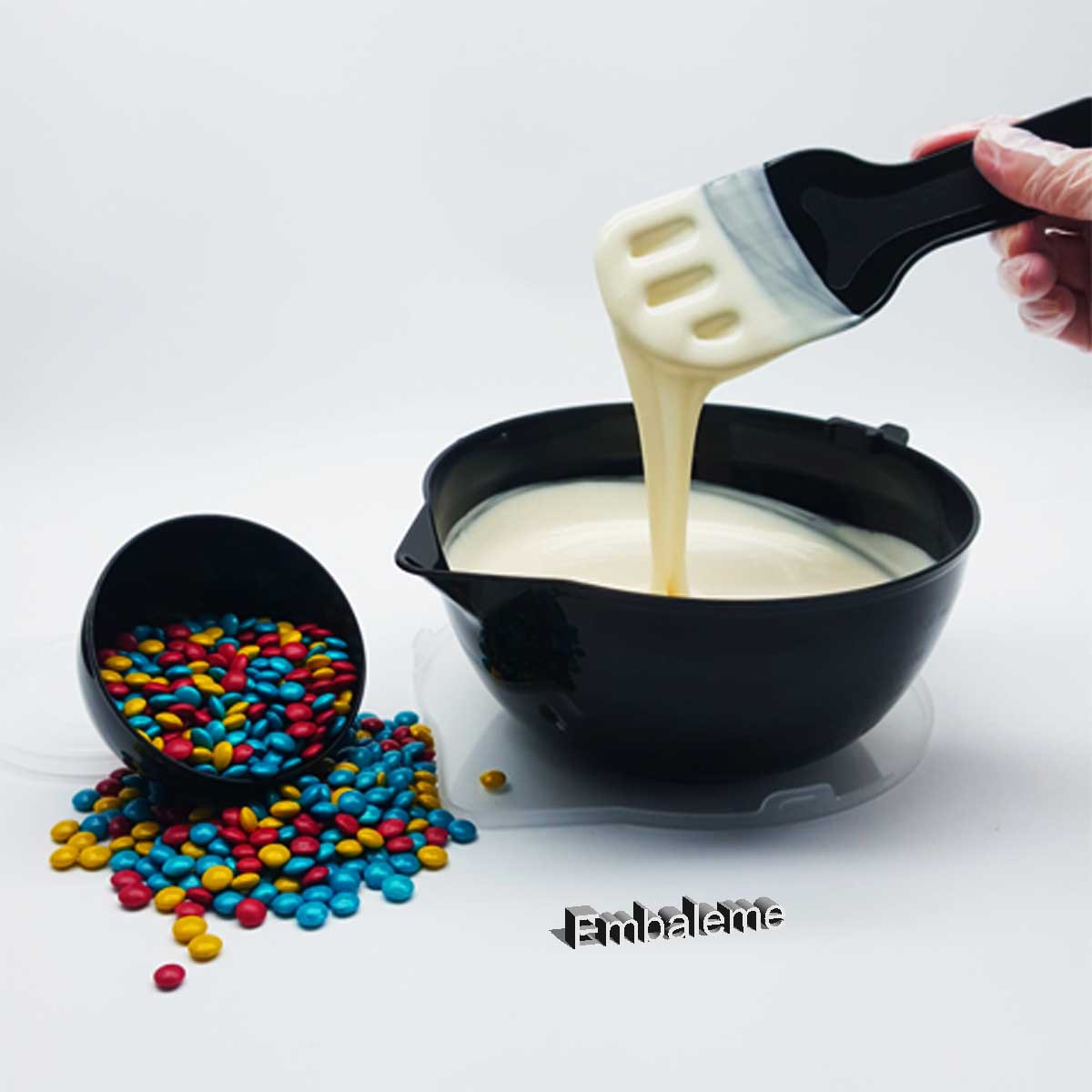 Derretedeira Para Chocolate Preta BWB cod. 9807