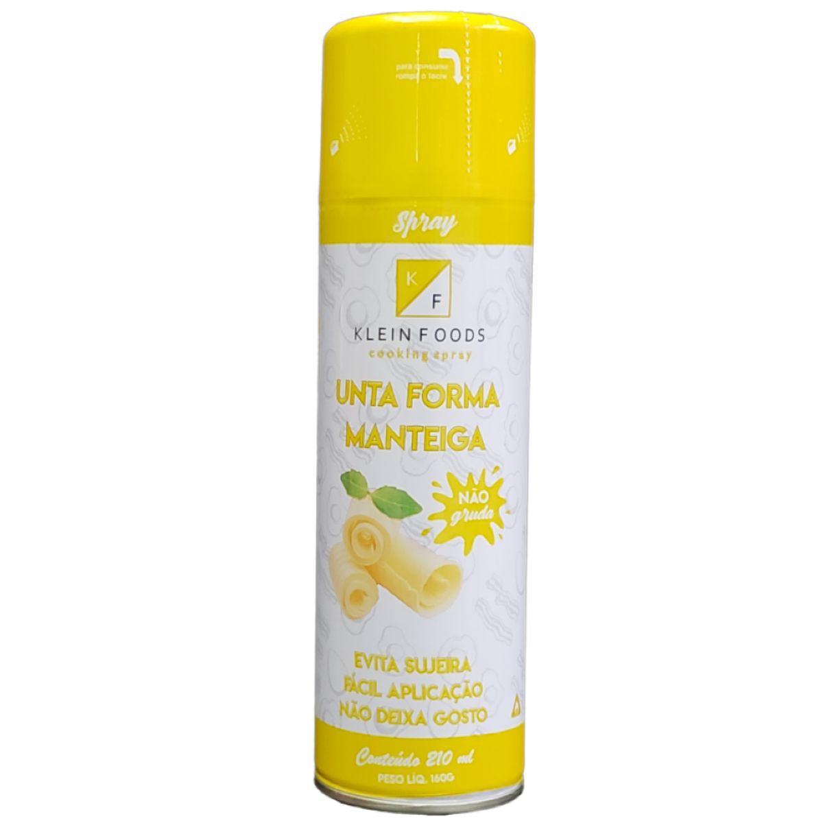 Desmoldante Unta Forma Manteiga 210ml Klein Foods