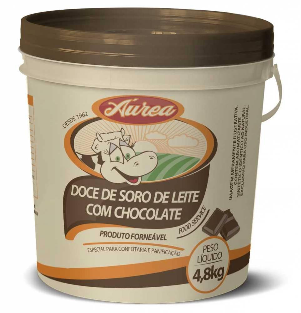 Doce de Leite com Chocolate Áurea 4.8kg