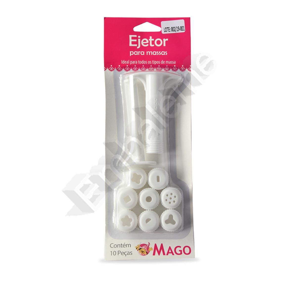 Ejetor Para Massas com 8 discos de Plástico MAGO