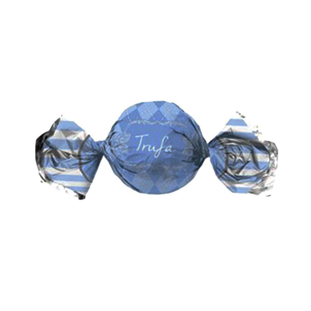 Embalagem para Trufas e Bombons Vichy Azul c/100 uni 14,5cm x 15,5cm Cromus