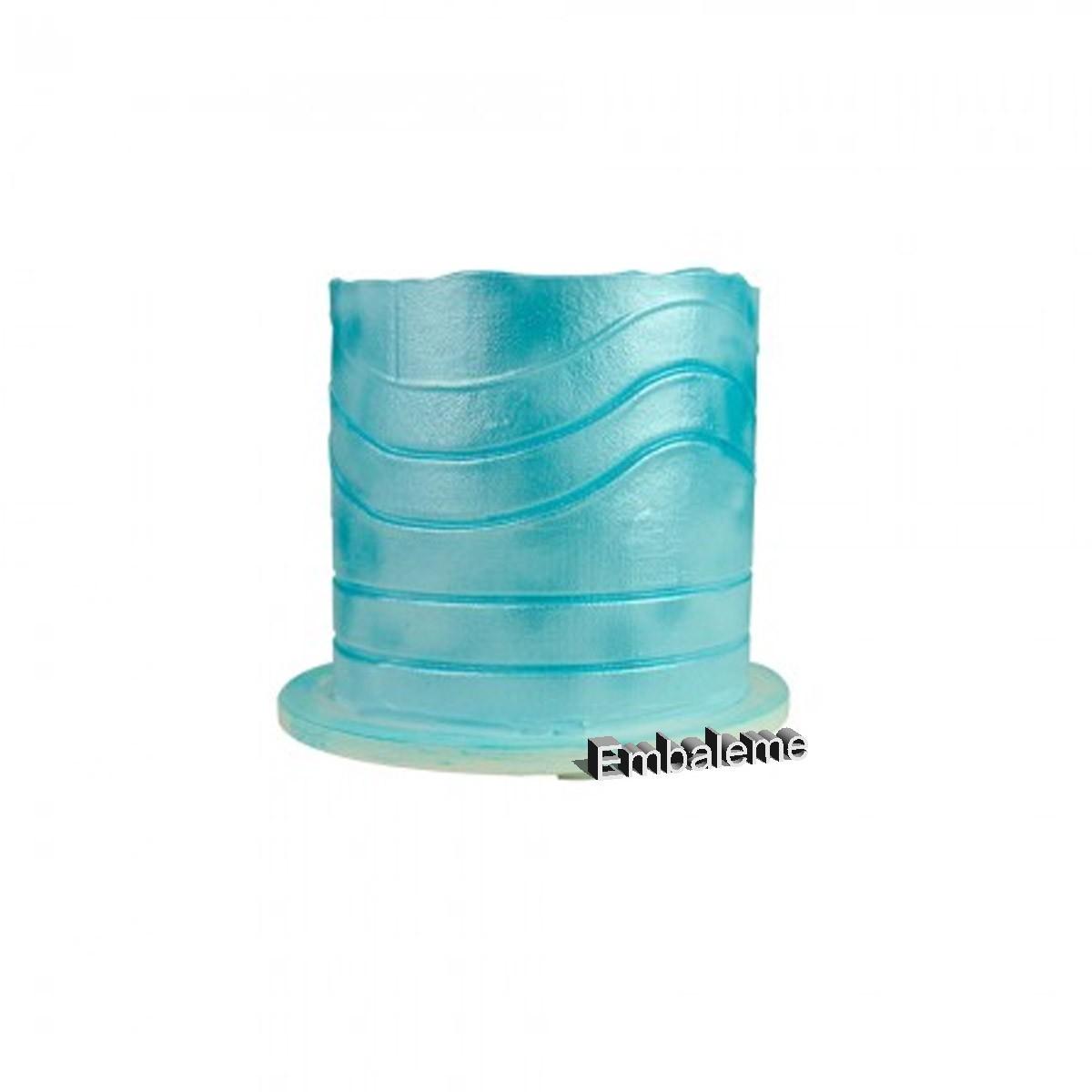 Espátula de Bolo Decorativa Mini 3 Blue Star