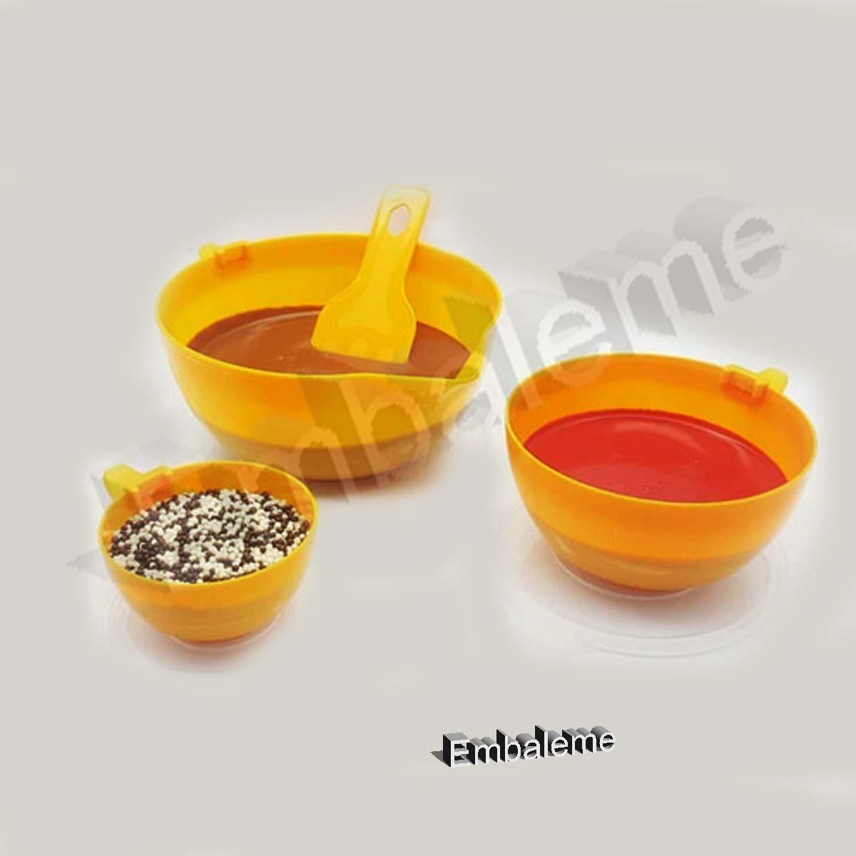 Espátula Para Chocolate  Pequena Lilás COD.254