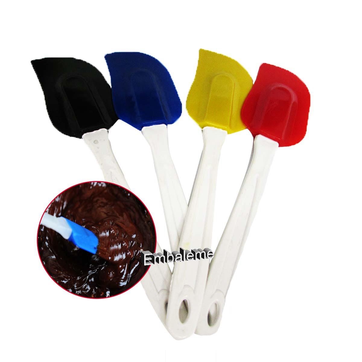 Espátula Silicone Pão Duro (cores variadas) 1 unidade