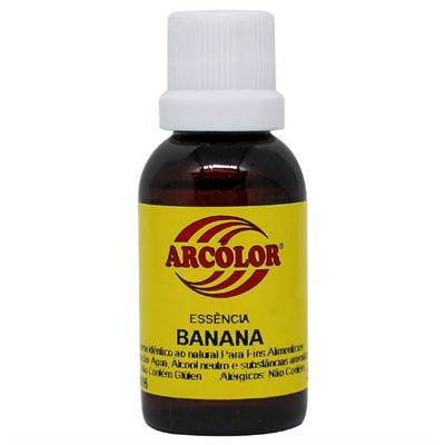 Essência de Banana 30ml Arcolor