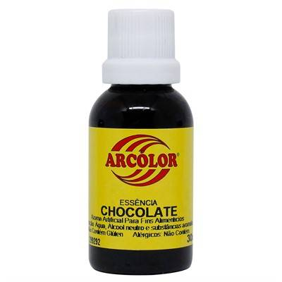 Essência de Chocolate 30ml Arcolor