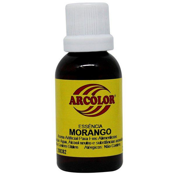 Essência de Morango 30ml Arcolor