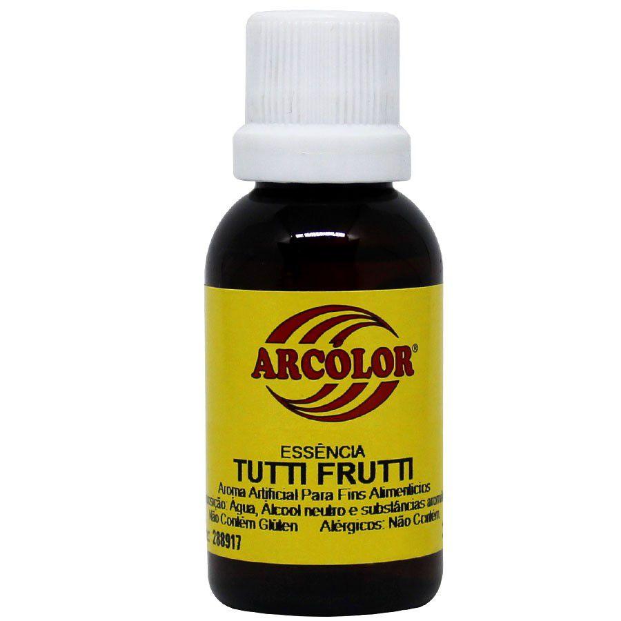 Essência de Tutti Frutti 30ml Arcolor