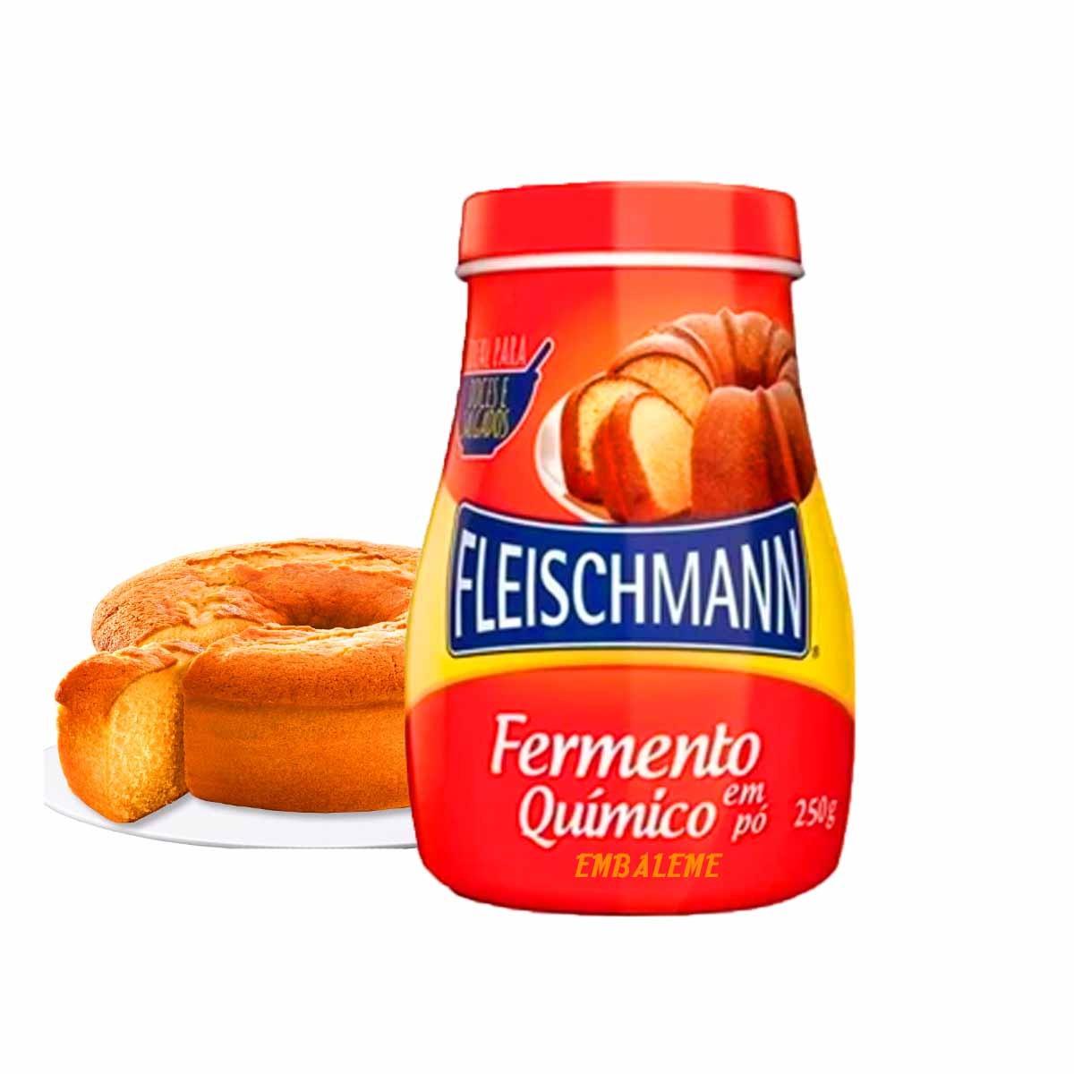 Fermento em Pó Químico Fleischmann 250g