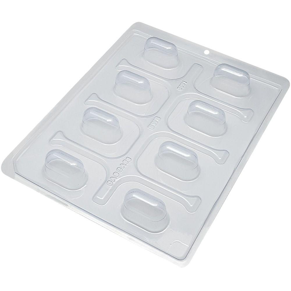 Forma de silicone mini trufa alongada (5061) BWB
