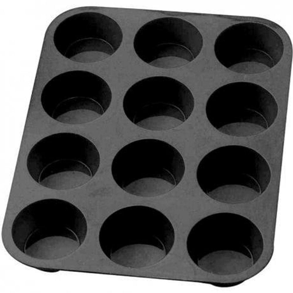 Forma Cupcake Silicone 12 cavidades Petit Gateau Kehome