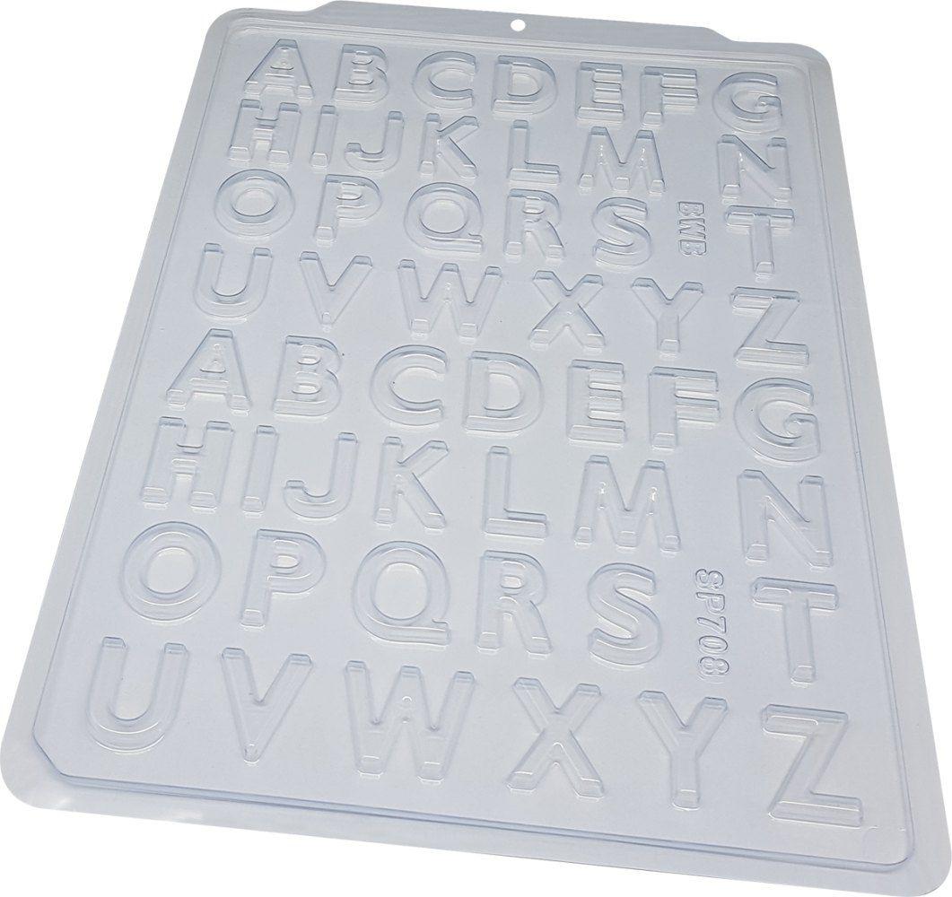Forma de acetato Alfabeto Pequeno (SP 708) BWB