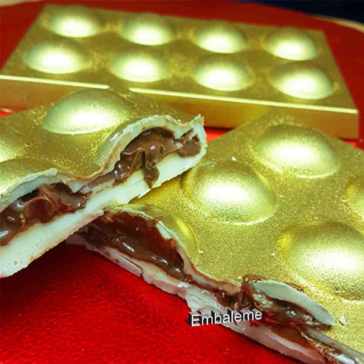 Forma de Silicone Tablete Bolinha (9683) BWB