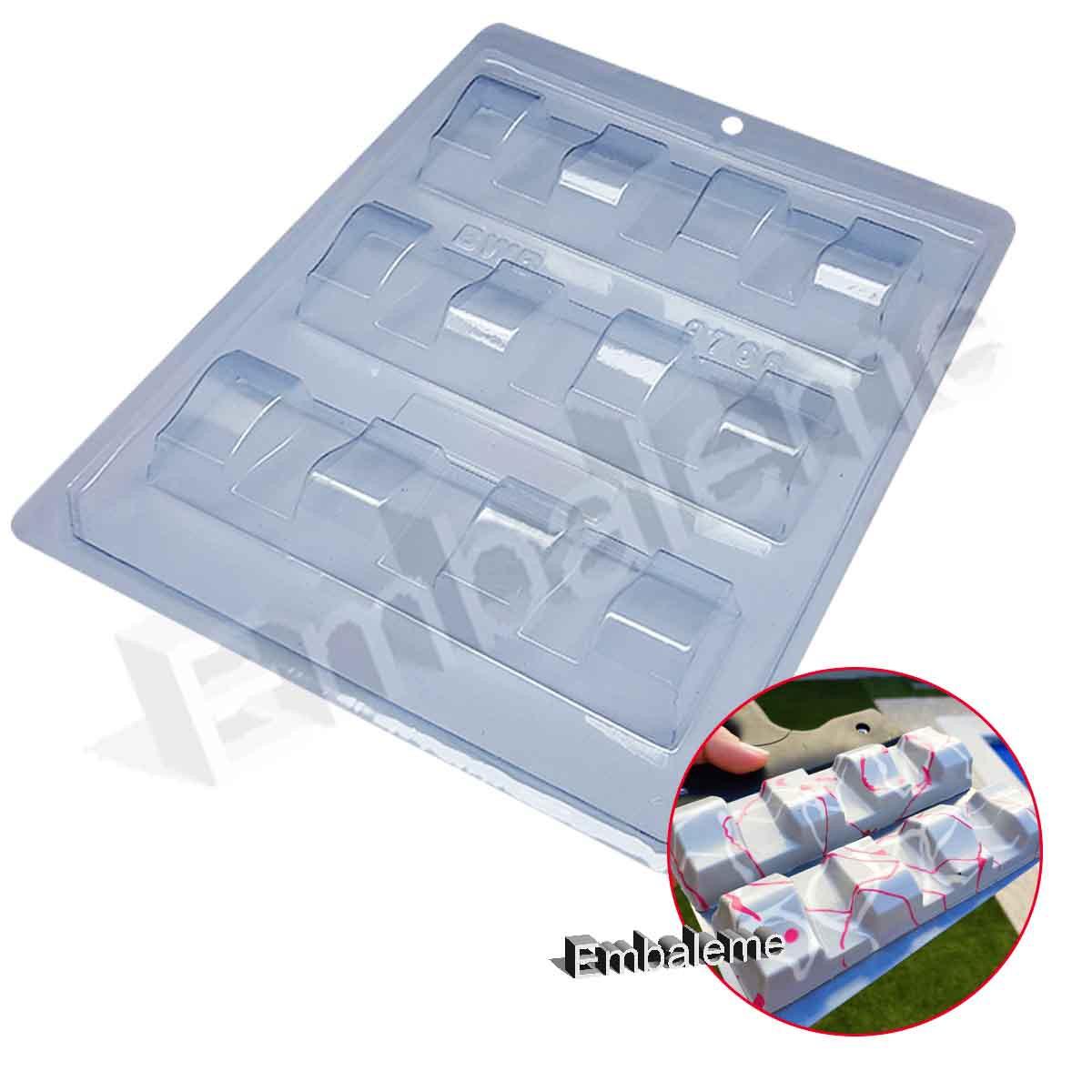 Forma de Silicone Tablete Sensações (9768) BWB