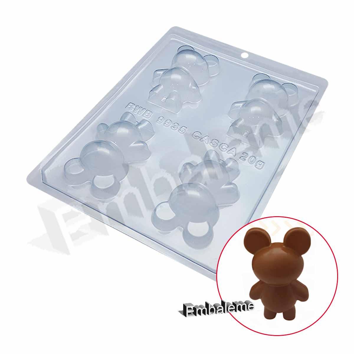 Forma de Silicone Urso Pequeno (9935) BWB