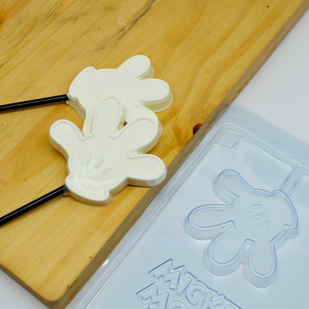 Forma de acetato Pirulito Luva Mickey (12050) BWB