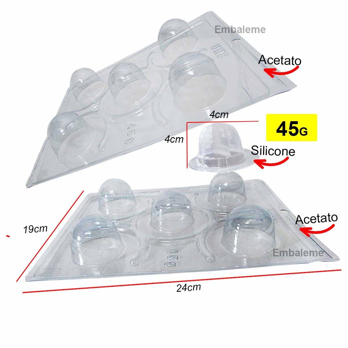 Forma Silicone Trufa Pequena Especial 45g (41) BWB