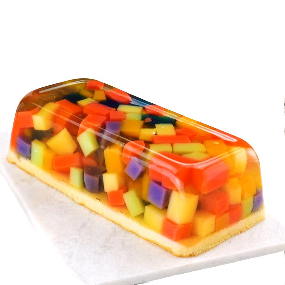 Forma de Silicone Retangular Assadeira Bolo Pão de Forma Torta