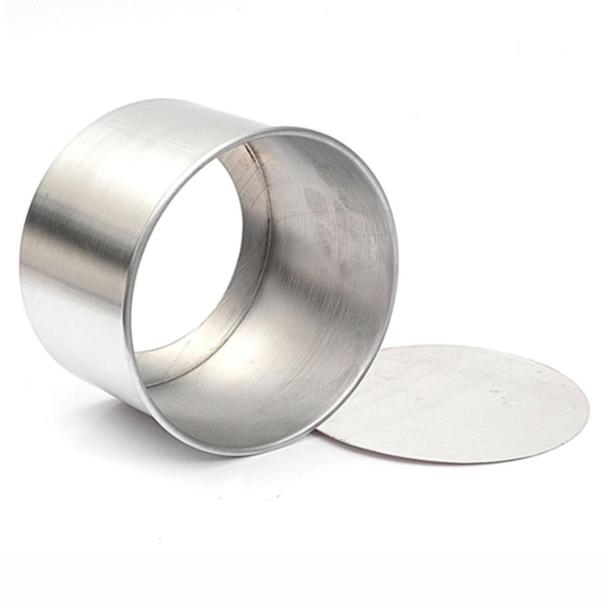 Forma de bolo alumínio com fundo falso 20X10cm (538) CAPARROZ