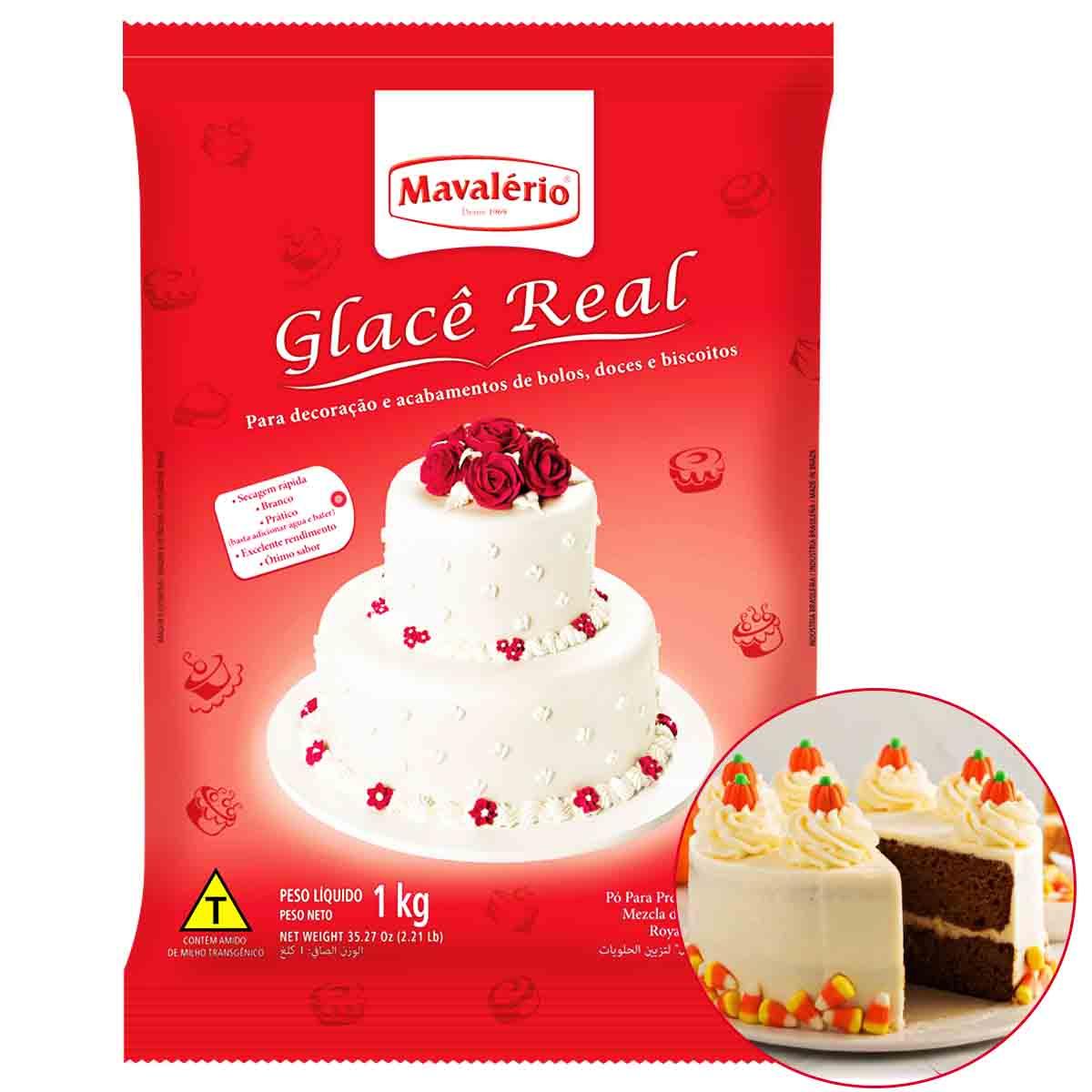 Glacê Real Mavalério 1kg