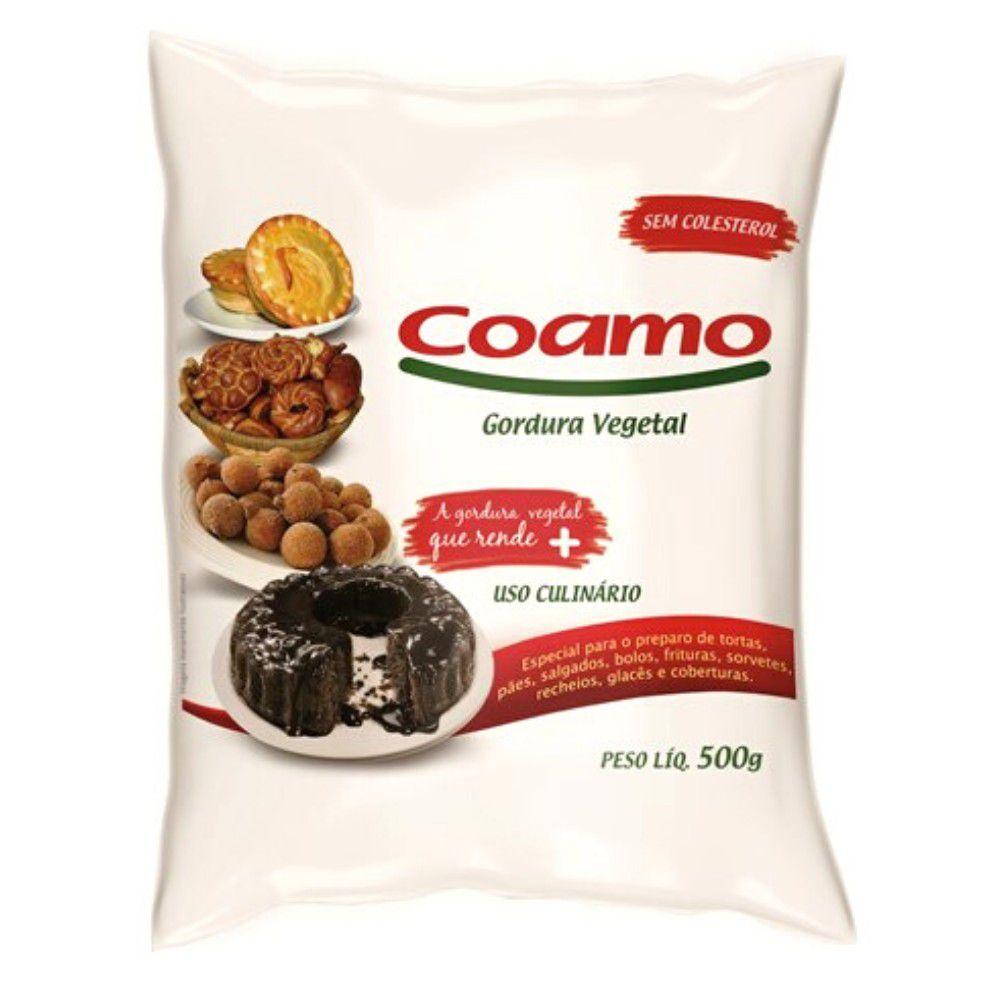 Gordura Vegetal 500g Coamo