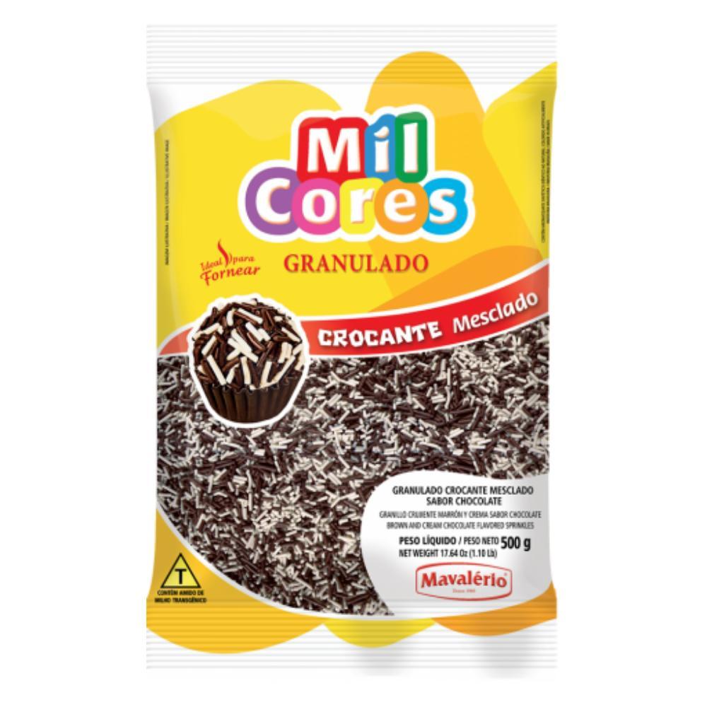 Granulado Crocante Mesclado 500g Mil Cores