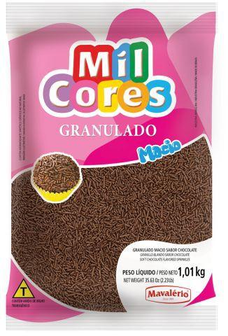 Granulado Macio sabor Chocolate Mavalério 1,01kg