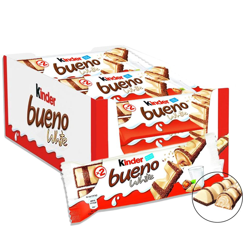 Kinder Bueno White Caixa 30x39g Ferrero