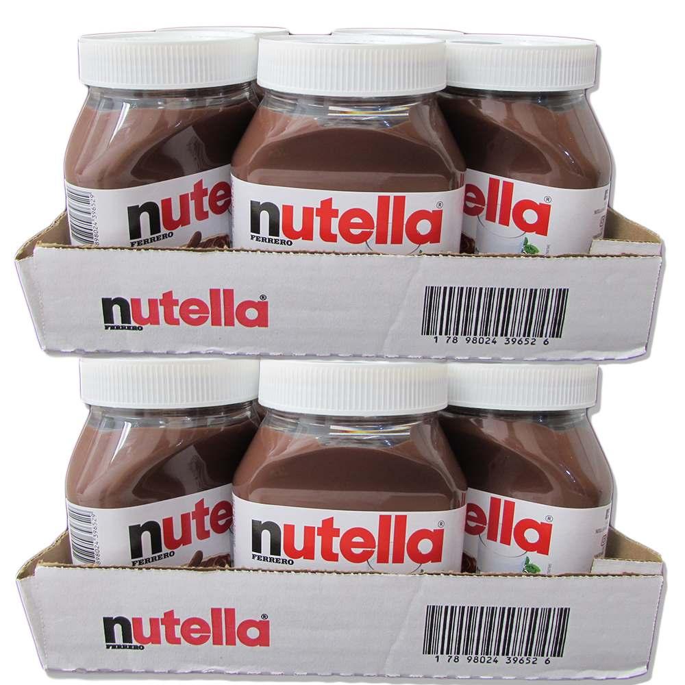 Kit Nutella 650g c/12 Ferrero