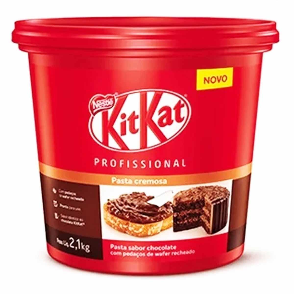 KitKat Pasta Cremosa de Chocolate 2,1kg Nestlé